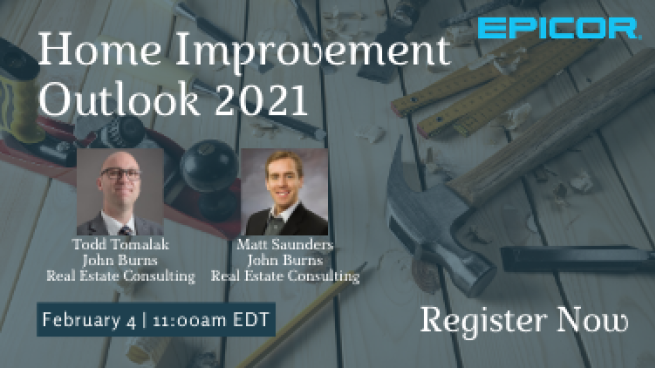 Webinar Alert A Home Improvement Outlook For 2021 Hbs Dealer