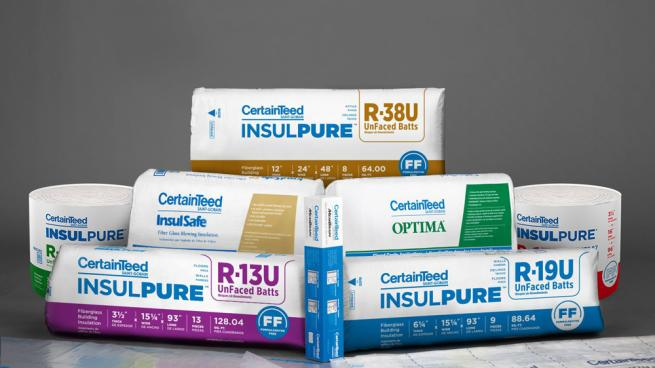 CertainTeed InsulPure insulation