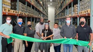 Hillman ribbon cutting Jacksonville
